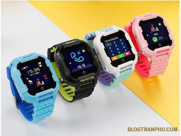 Đồng hồ định vị trẻ em Wonlex KT03 chống va đập mạnh