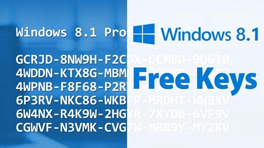 Key Win 8.1 Pro - Key Giúp Cài Đặt và Active Windows 8.1 Mới Nhất