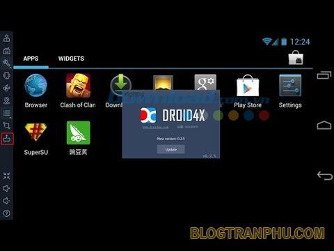 Phần mềm giả lập Droid4X