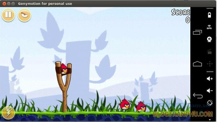 Phần mềm giả lập Android 3D GenyMotion