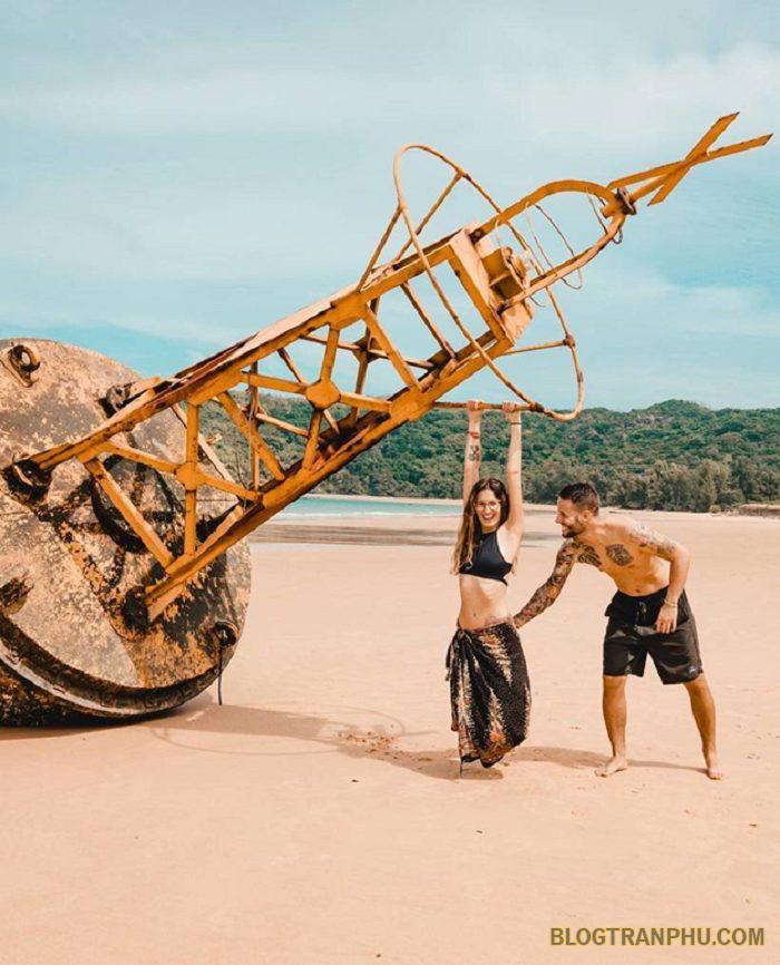 Bãi biển Việt Namđược ví như thấm thảm xanh của biển cả