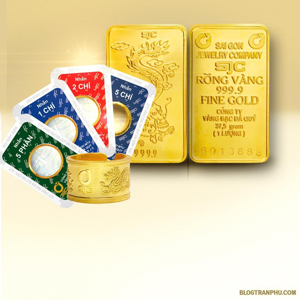 Vàng SJC là vàng gì ? Vàng SJC có mấy loại ?