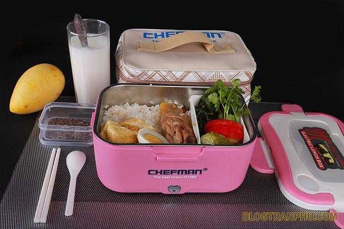 Hộp ủ cơm hâm nóng Chefman CM12
