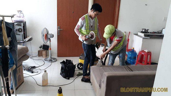 Dịch vụ vệ sinh công nghệ tại nhà giá rẻ ở TPHCM