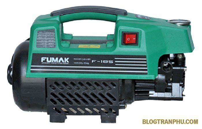Máy rửa xe Fumak là sự lựa chọn số 1 của nhiều gia đình