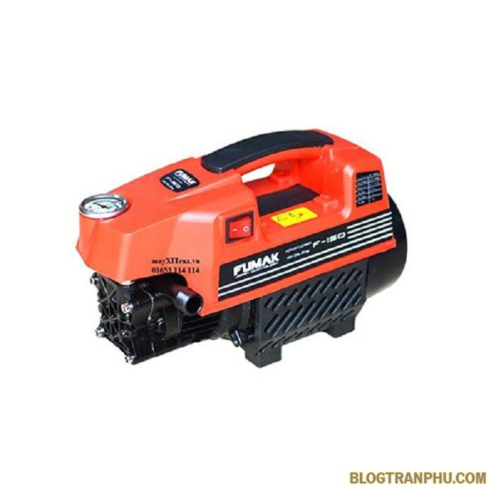 Máy rửa xe gia đình Fumak có thể vệ sinh nhiều thiết bị khác nhau trong gia đình