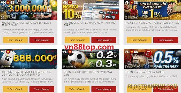 VN88 - Nhà cái hàng đầu dành cho người Việt Nam