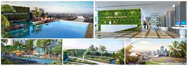 Có nên thuê chung cư Imperia Sky Garden Minh Khai?