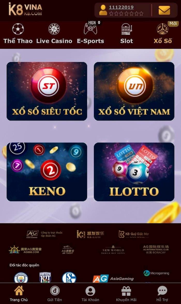 Đánh đề trực tuyến k8 - Cách tham gia chơi lô đề online tại K8 trên điện thoại rất nhanh chóng