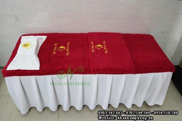 Những ưu điểm vượt trội của khăn trải spa Nam Phong