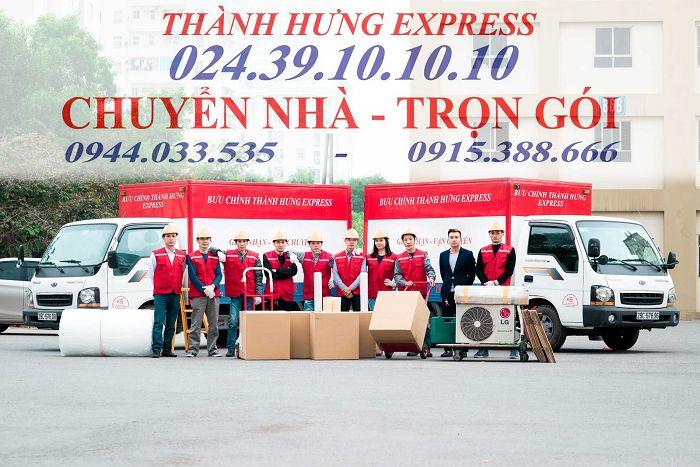 Thành Hưng - Công ty chuyển nhà trọn gói số 1 Hà Nội