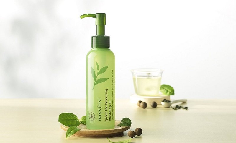 Dầu tẩy trang innisfree Green Tea Balancing Cleansing Oil