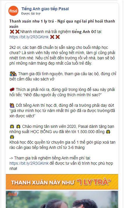 4 bước Viết Content facebook Cho Trung Tâm Ngoại Ngữ