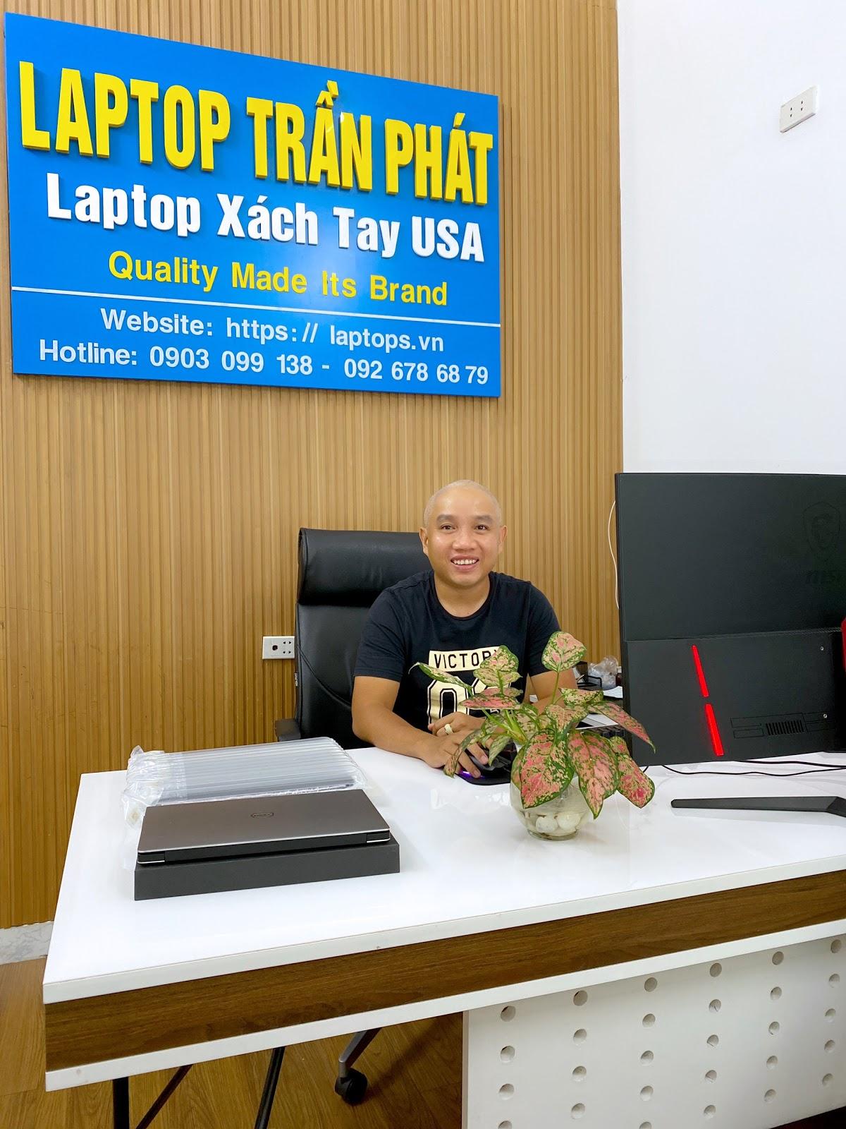 CEO Trần Minh Tuấn Laptop Trần Phát