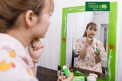 Những công dụng của kem rau má yoosun