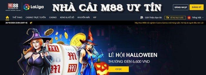 M88 - Nhà cái uy tín có số lượng thành viên tham gia đặt cược đông đảo nhất Việt Nam