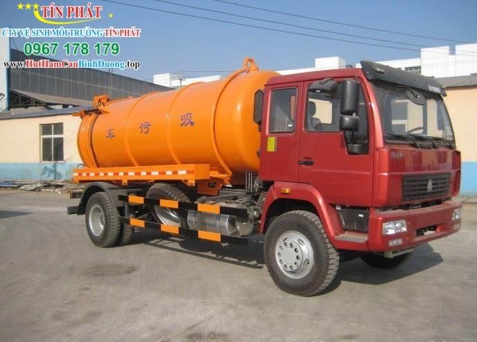 Tín Phát - Đơn vị cung cấp dịch vụ hút hầm cầu TPHCM chất lượng, giá tốt