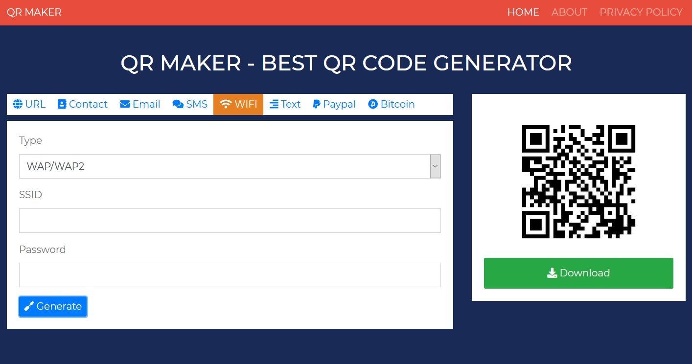 Hướng dẫn tạo mã QR code với InfotechZ QR Maker