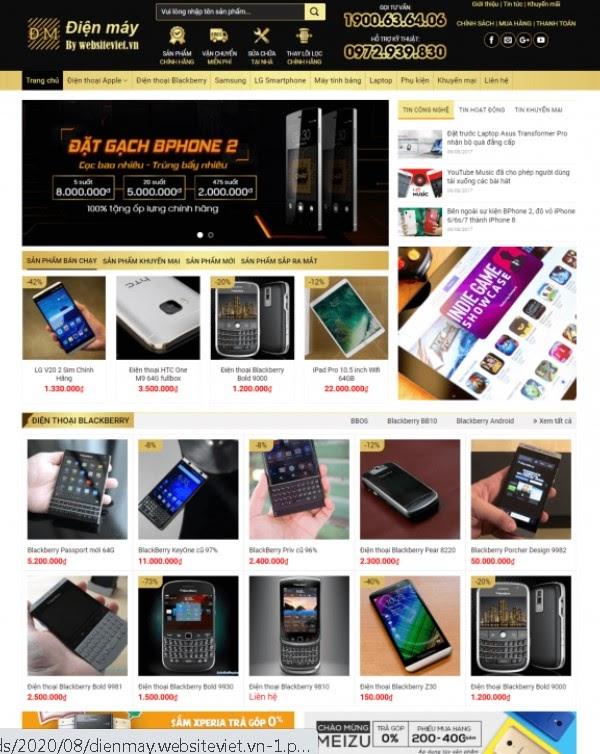 Thiết kế website chuyên nghiệp Tphcm - Websiteviet.VN