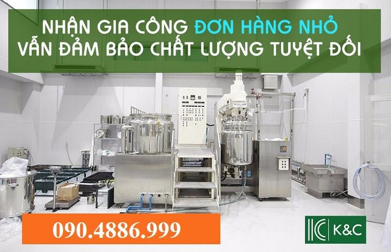 Công ty chuyên nhận gia công mỹ phẩm thiên nhiên trọn gói độc quyền uy tín giá rẻ tại Hà Nội