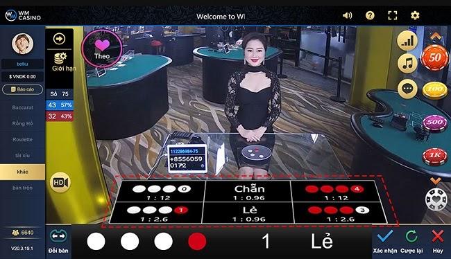 Live Casino ngay tại cổng game IWIN68VN