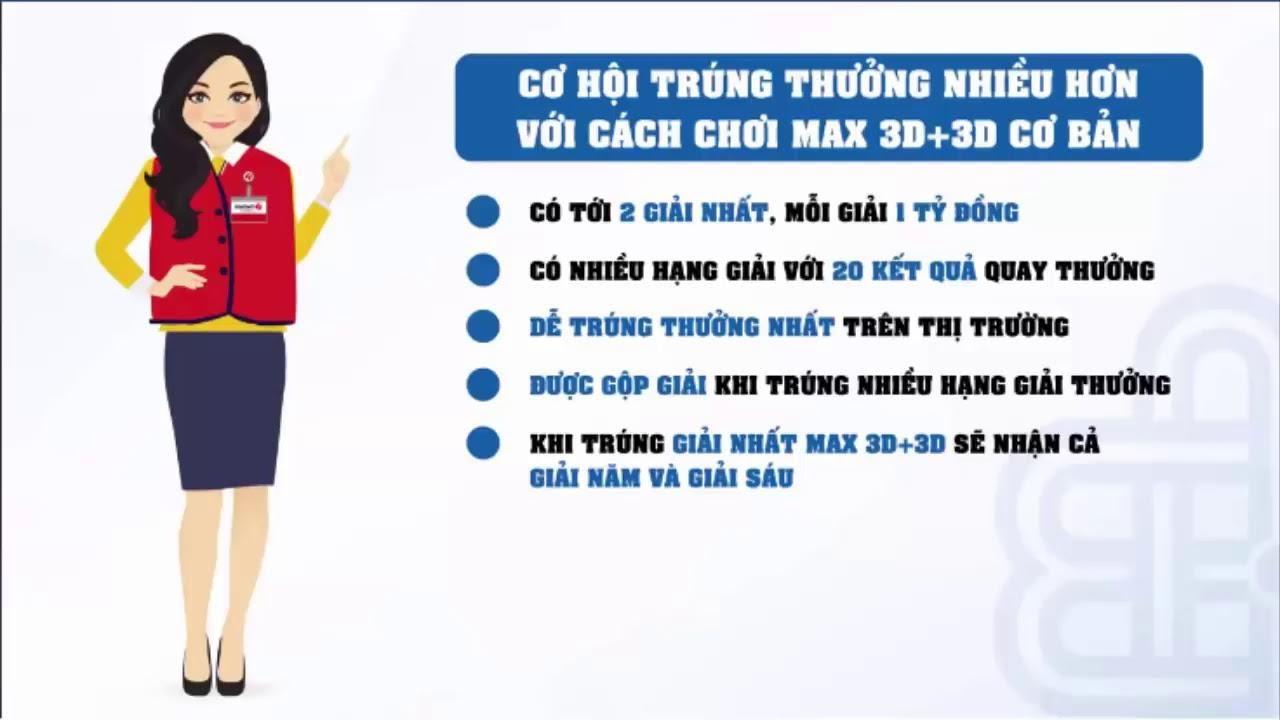 Giới thiệu xổ số MAX 3D – cơ cấu và giá trị giải thưởng cho những ai muốn biết thêm thông tin chi tiết