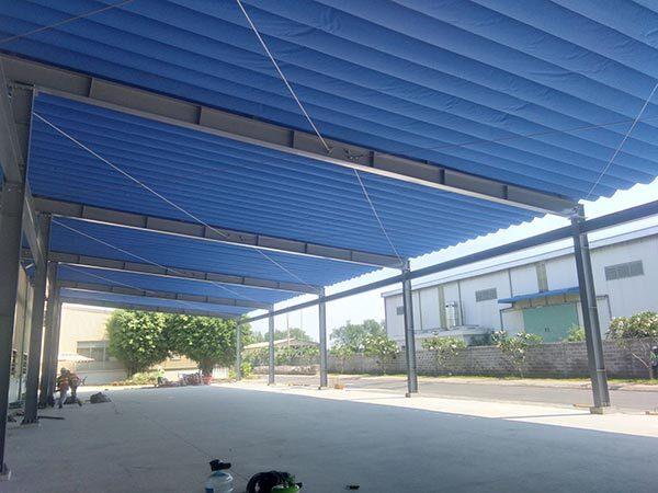 Những điều cần biết khi lắp mái che cho kho xưởng tại TP HCM