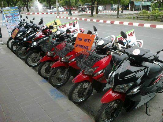 Thuê xe máy tại FLC Nhơn Lý - Quy Nhơn