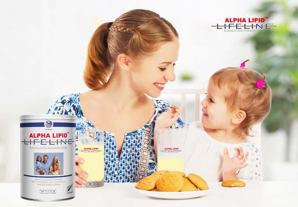 Tác dụng phụ của sữa non Alpha Lipid Lifeline
