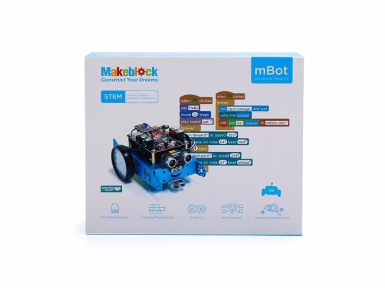Mbot V1.1 Blue robot giành cho trẻ bước đầu làm quen với lập trình